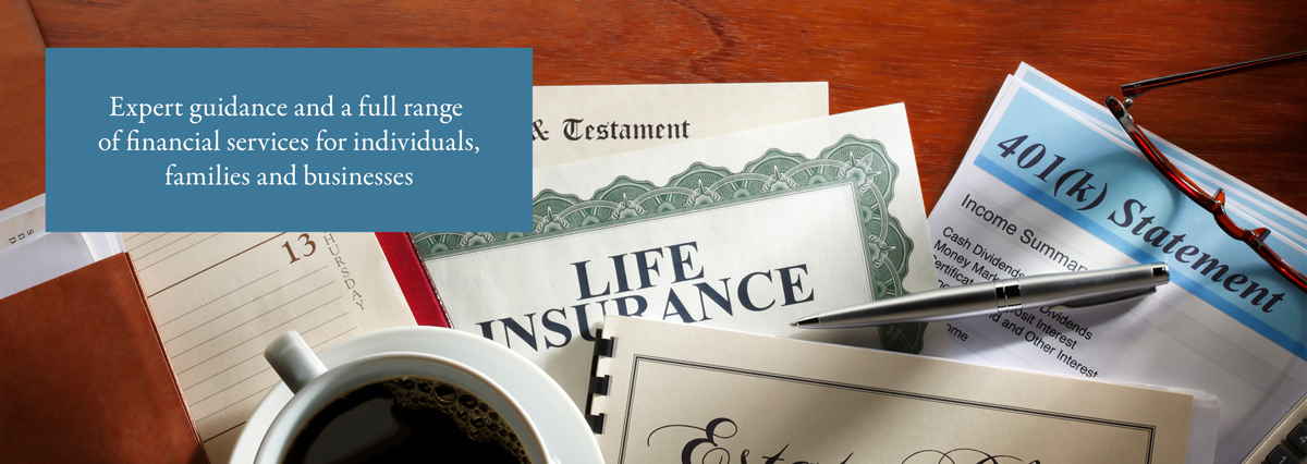 Expert guidance and a full range of financial services for individuals, families and businesses